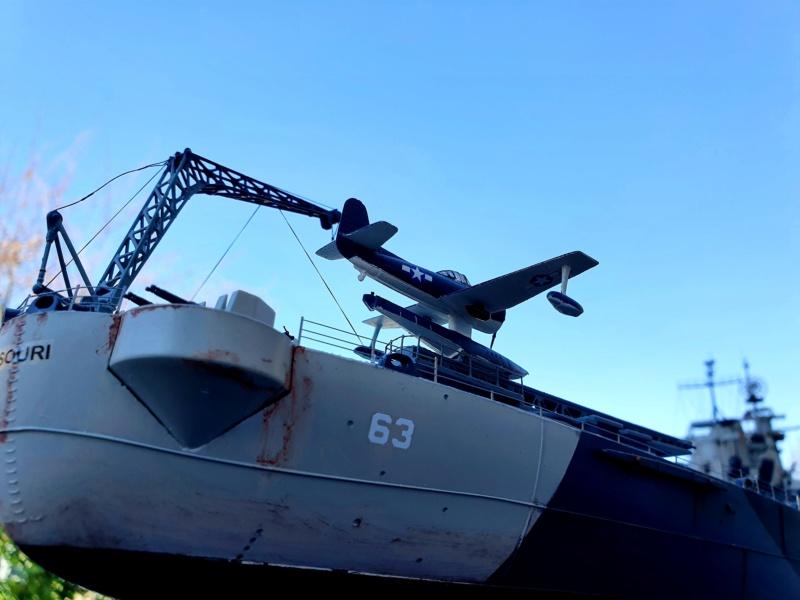 USS MISSOURI BB 63 - Trumpeter, 1/200 - Seite 4 20200418