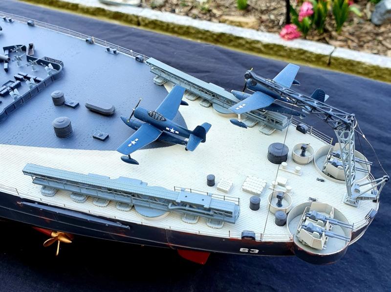 USS MISSOURI BB 63 - Trumpeter, 1/200 - Seite 4 20200420