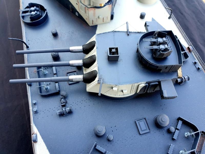 USS MISSOURI BB 63 - Trumpeter, 1/200 - Seite 4 20200424