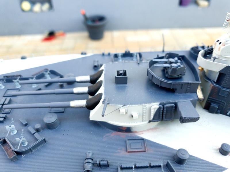 USS MISSOURI BB 63 - Trumpeter, 1/200 - Seite 4 20200426