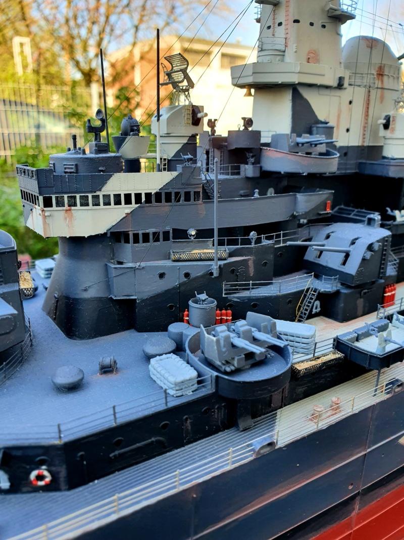 USS MISSOURI BB 63 - Trumpeter, 1/200 - Seite 4 20200438