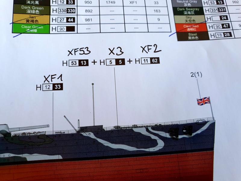 HMS RODNEY / Trumpeter, 1:200 RC 20200464