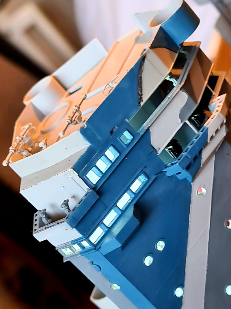HMS RODNEY / Trumpeter, 1:200 RC 20200555