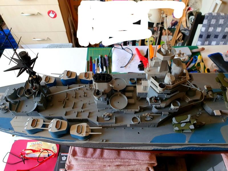 HMS RODNEY / Trumpeter, 1:200 RC 20200567