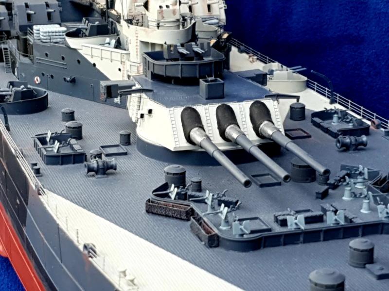 USS MISSOURI BB 63 - Trumpeter, 1/200 - Seite 4 20200611