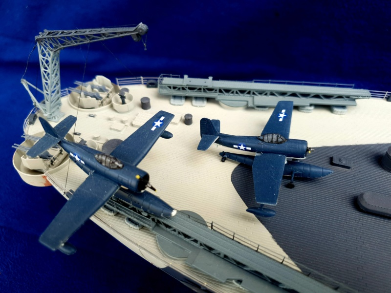 USS MISSOURI BB 63 - Trumpeter, 1/200 - Seite 4 20200621
