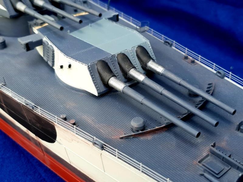 USS MISSOURI BB 63 - Trumpeter, 1/200 - Seite 4 20200632