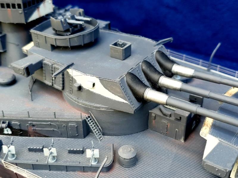 USS MISSOURI BB 63 - Trumpeter, 1/200 - Seite 4 20200633