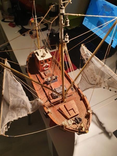 Restaurierung einer GRAUPNER Krabbe Tön12 in 1:25 20201115