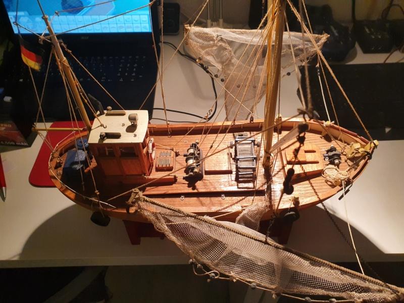 Restaurierung einer GRAUPNER Krabbe Tön12 in 1:25 20201116