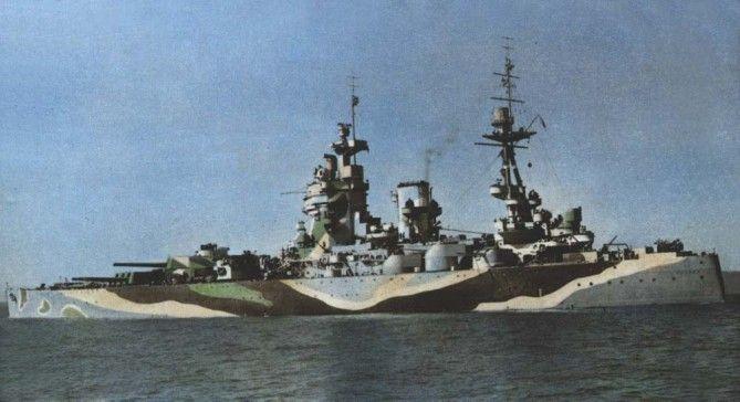 HMS RODNEY / Trumpeter, 1:200 RC 2e0bcb10