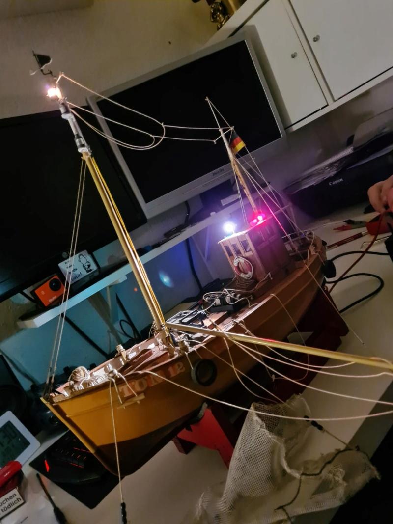 Restaurierung einer GRAUPNER Krabbe Tön12 in 1:25 Img-2039