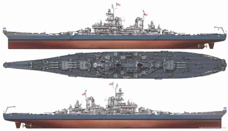 USS MISSOURI BB 63 - Thorsten's Baubericht Uss-mi10