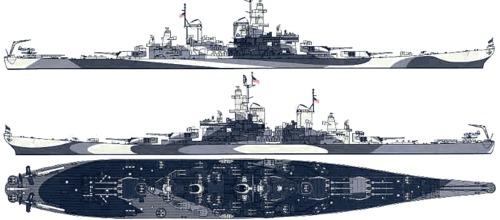 USS MISSOURI BB 63 - Thorsten's Baubericht Uss_bb10