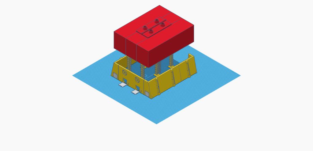 [Décors] Avant projet pour impression 3D Entrep12