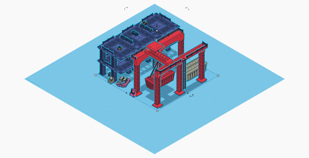 [Décors] Avant projet pour impression 3D Entrep13