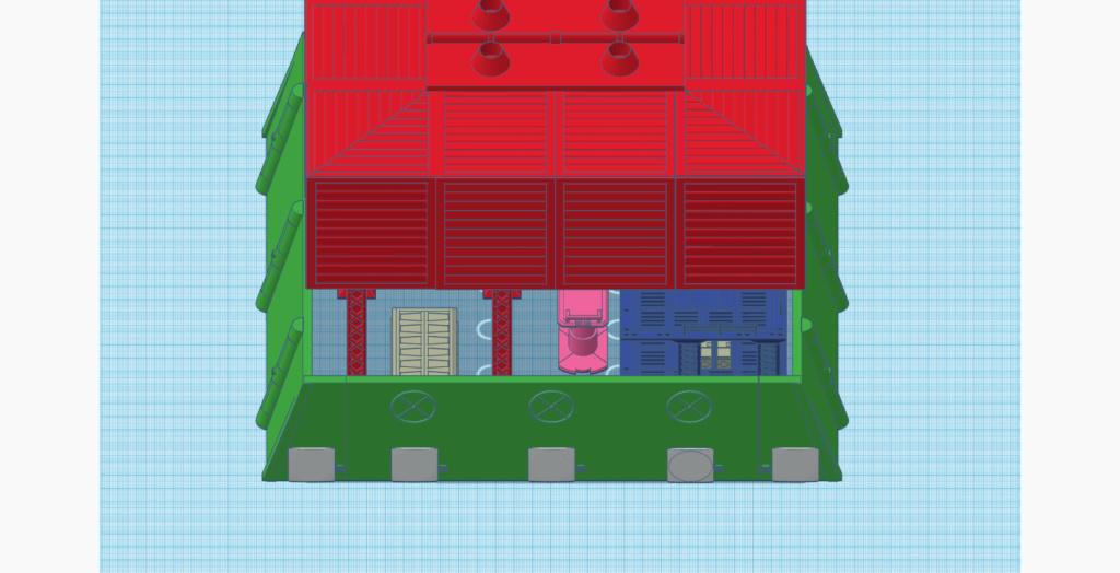 [Décors] Avant projet pour impression 3D Entrep17
