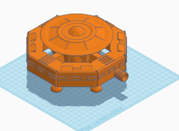 [Décors] Avant projet pour impression 3D Statio12