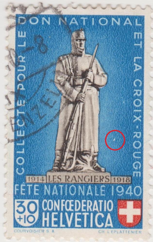 SBK B6 Denkmäler - Les Rangiers 1914-1918 Pp6-110