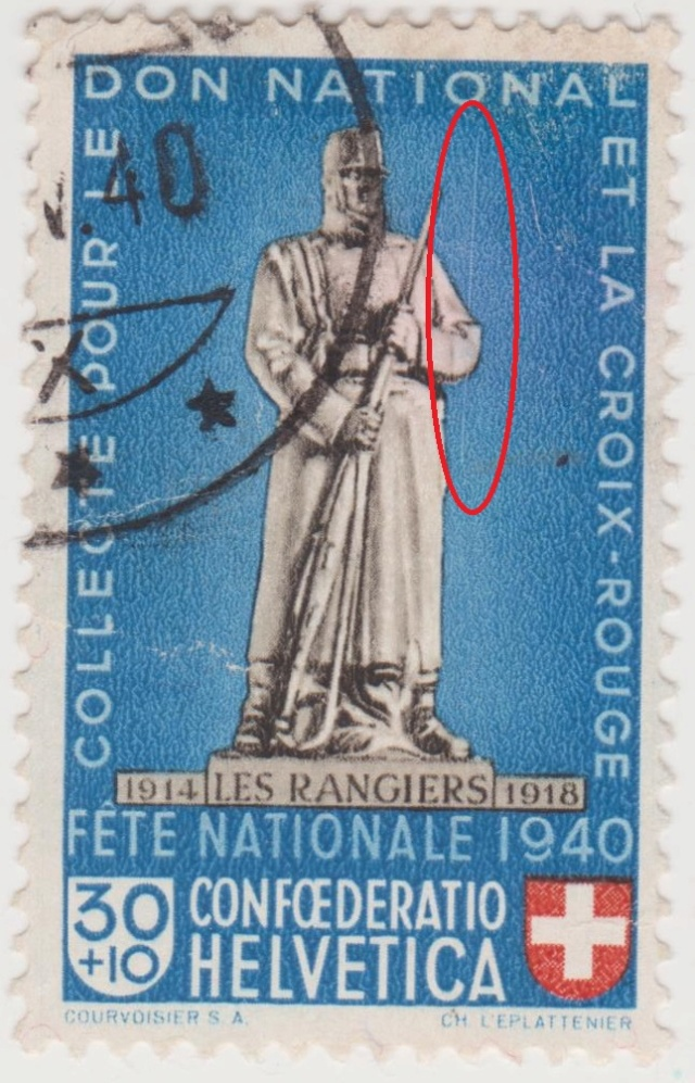 SBK B6 Denkmäler - Les Rangiers 1914-1918 Pp6-310