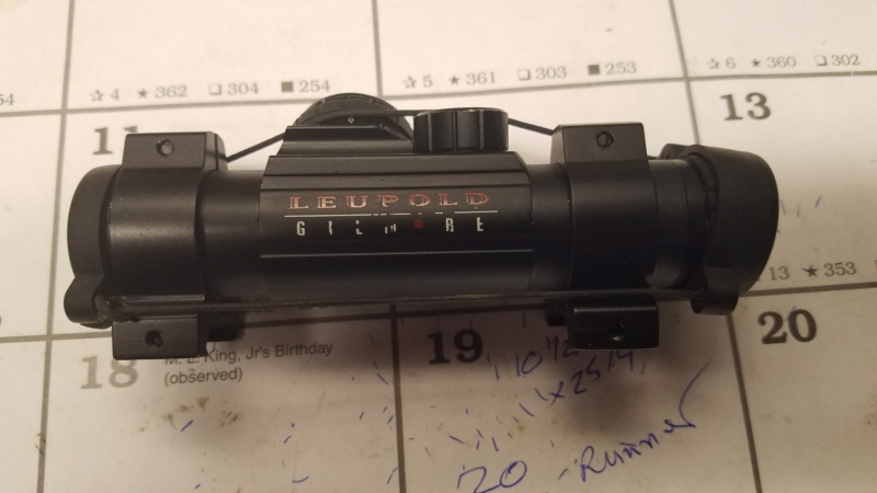 WTS Leopold Gilmore Red Dot sight $150 20210327
