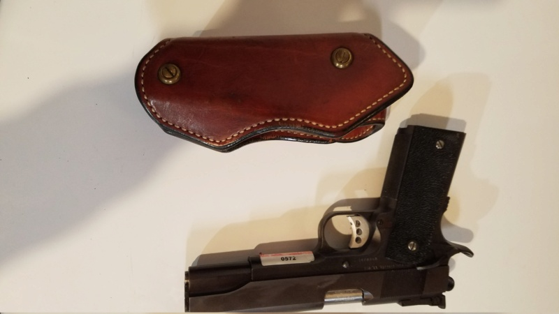 WTS Ernie Hill 1911 Leatham-Enos holster (SOLD) 20210410