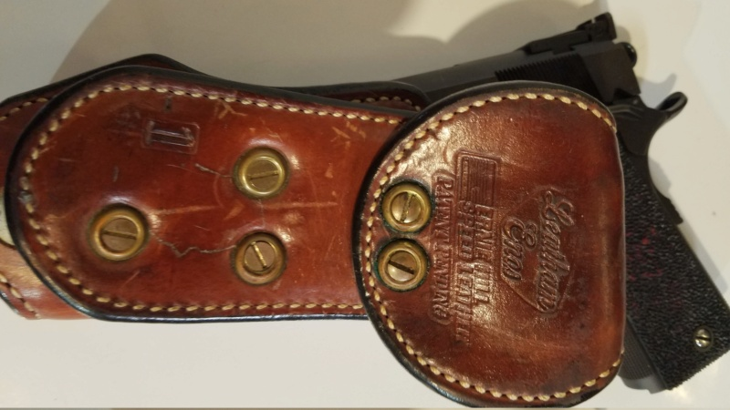 WTS Ernie Hill 1911 Leatham-Enos holster (SOLD) 20210411