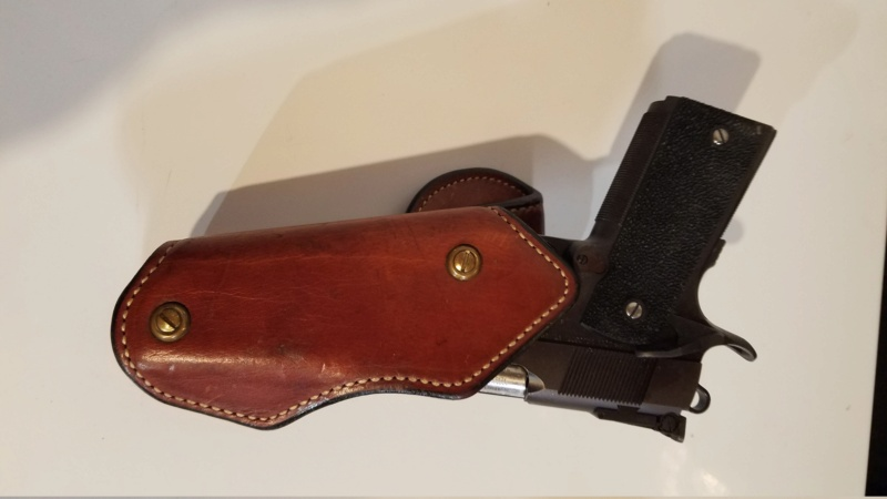 WTS Ernie Hill 1911 Leatham-Enos holster (SOLD) 20210412
