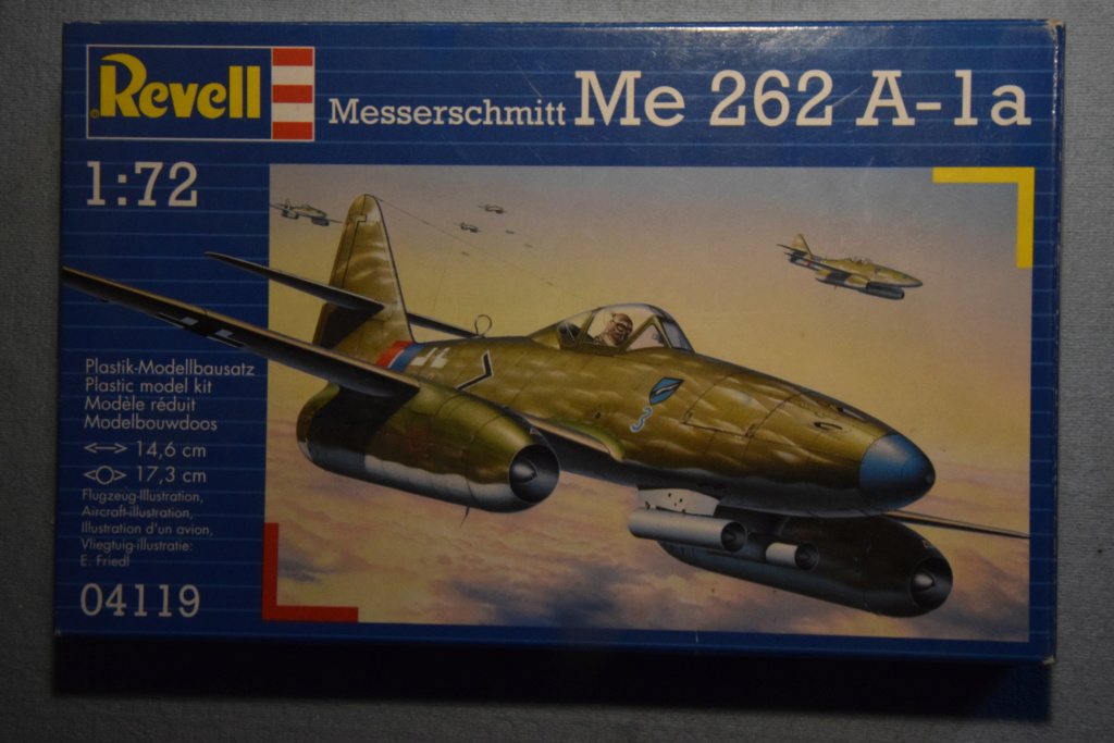 Revell - 1/72- Me 262 A-1a 00113