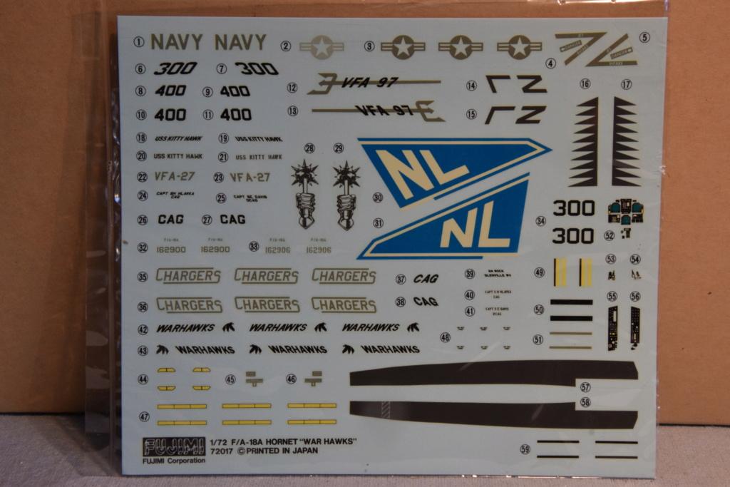 "F/A-18A ""Hornet"" - Fujimi - 1/72 01410"