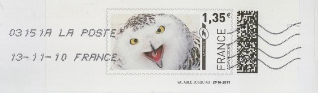 Internetmarken aus Frankreich 13111011