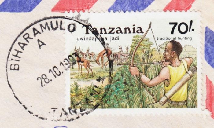 Tansania - Belege mit Briefmarken 1365_211