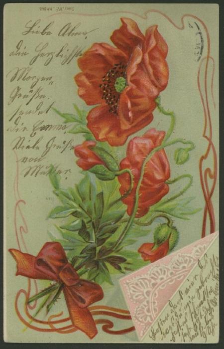 Romantische Postkarten  1510