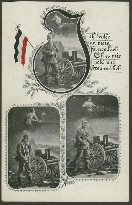 Feldpost deutscher Soldaten 16111512