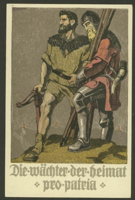 Bundesfeier-Ganzsachenpostkarten - Zumstein BuP 1910_x12