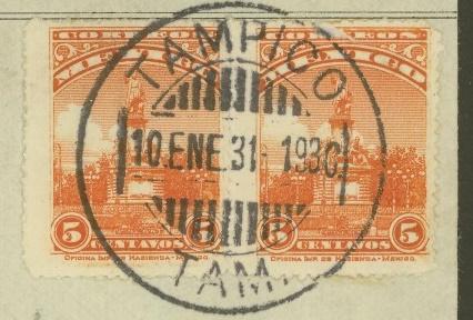 Mexiko - Briefe und Karten (ohne Ganzsachen) 584a_111
