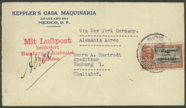 Mexiko - Briefe und Karten (ohne Ganzsachen) 638_2012