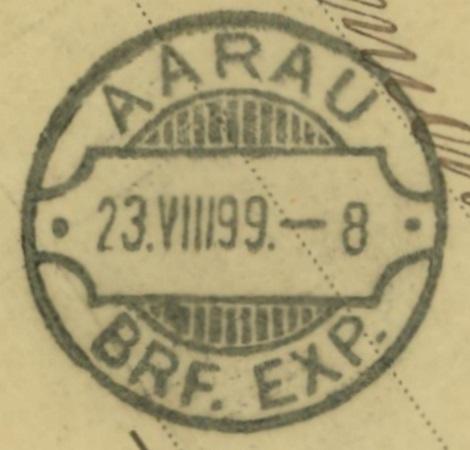 Ganzsachenpostkarten mit privaten Zudrucken Aarau_11