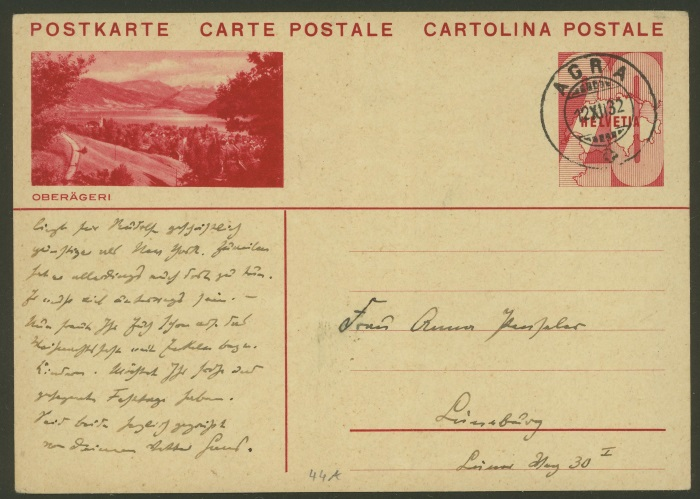 Bildpostkarten Zumstein P 128, 130 (120 verschiedene Karten) Agra_111
