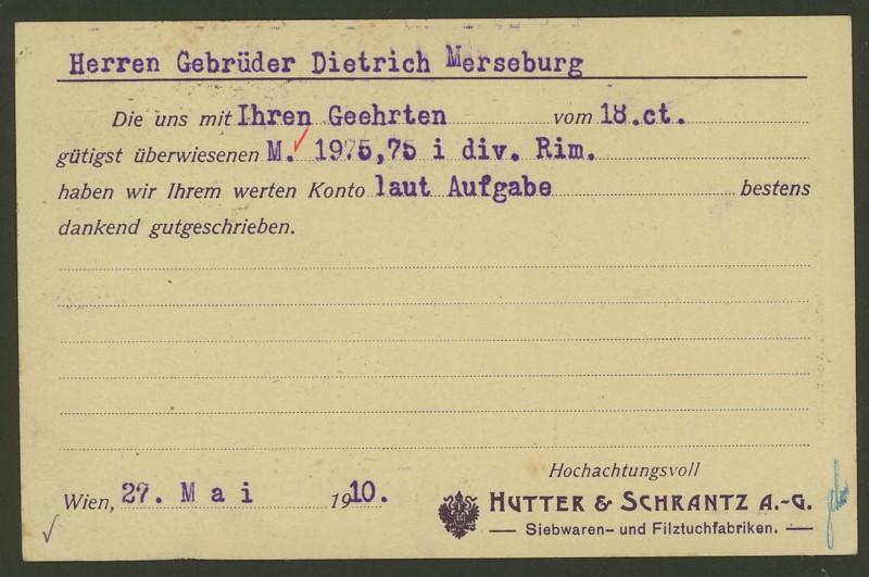 Österreich: amtliche Ganzsachenpostkarten mit privaten Zudrucken Ank_p_11