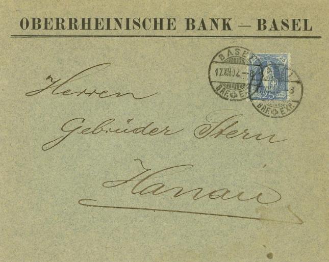 Bankbriefe aus aller Welt Ch_obe10