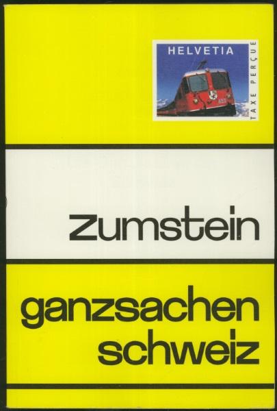 zumstein - Die Zumstein-Ganzsachenkataloge der Schweiz Ch_zum11
