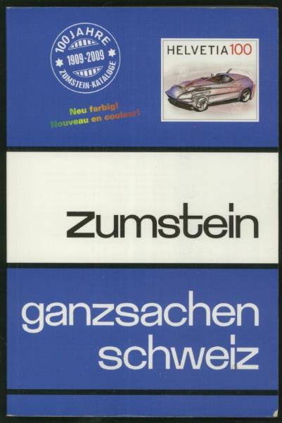 Ganzsachenkatalog 2009 Ch_zum13