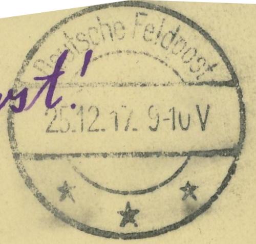 Feldpost deutscher Soldaten Feldpo12