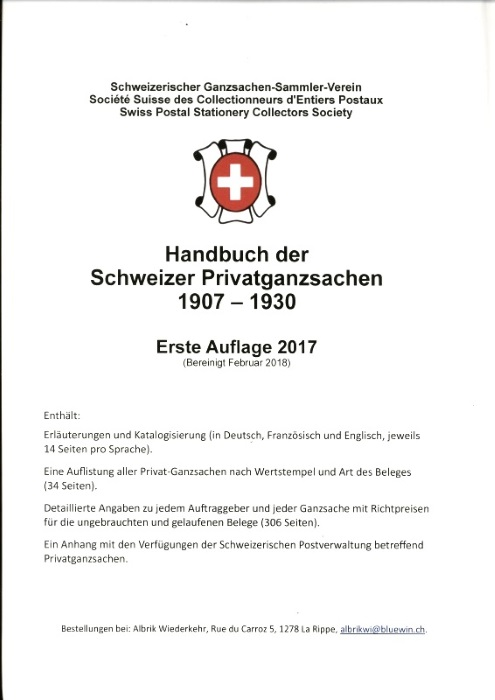 Handbuch der Schweizer Privatganzsachen Handbu10