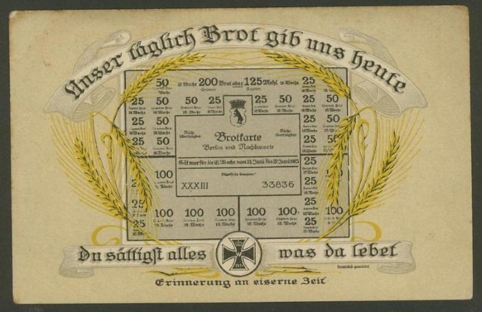 Mein Sammelgebiet: Notgeld und Rationierung-Lebensmittel-Karten. Kais_d11