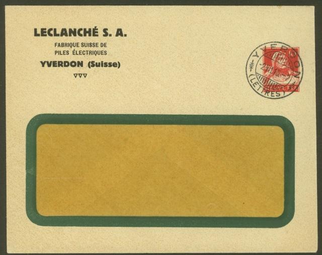 Private Ganzsachenumschläge - Wertstempel Tellkopf Leclan10