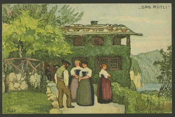 Bundesfeier-Ganzsachenpostkarten - Zumstein BuP Mi_p_411
