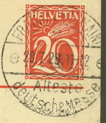 Ganzsachenpostkarten - Ausgaben 1900 bis 1934 P_105_13