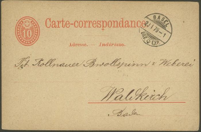 Ganzsachenpostkarten mit privaten Zudrucken P_11_m10